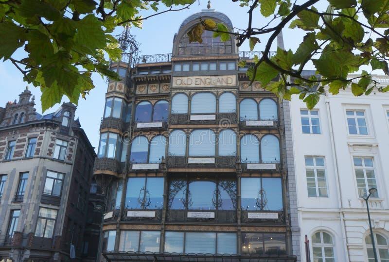 Museu do instrumento musical, Bruxelas fotografia de stock