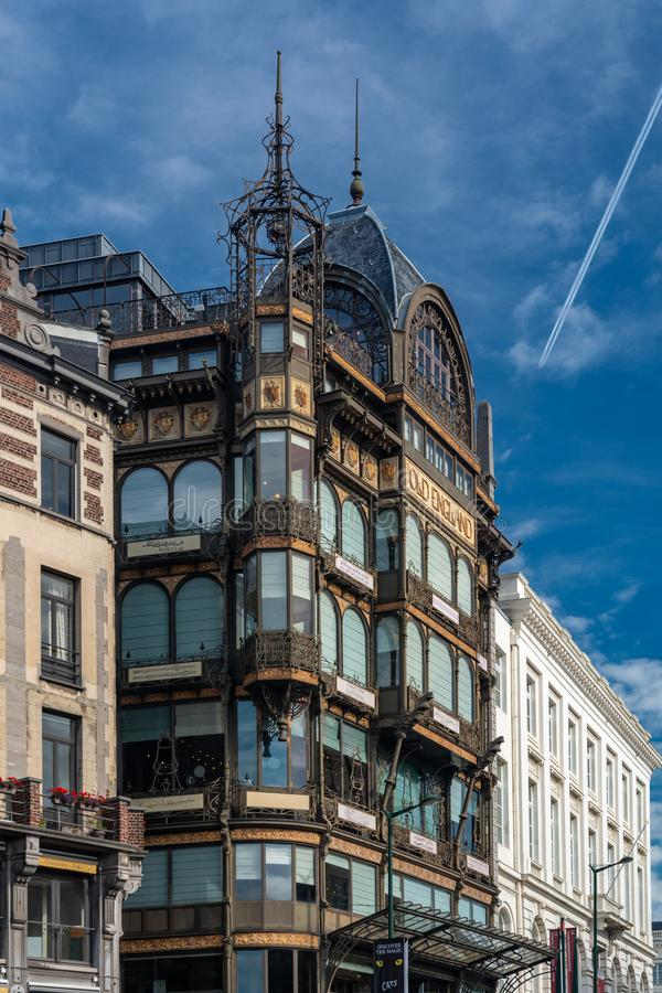 Museu do instrumento musical em Bruxelas fotos de stock royalty free