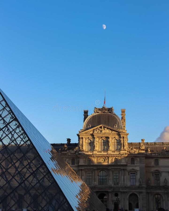 Museu do Louvre imagens de stock