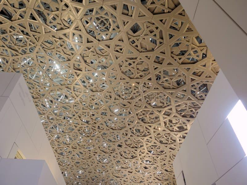 Museu do Louvre em Abu Dhabi foto de stock