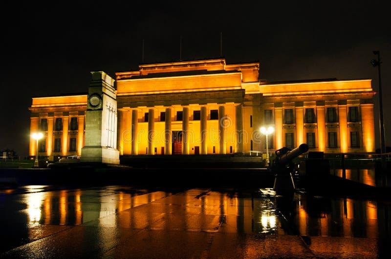 Museu do memorial de guerra de Auckland fotos de stock