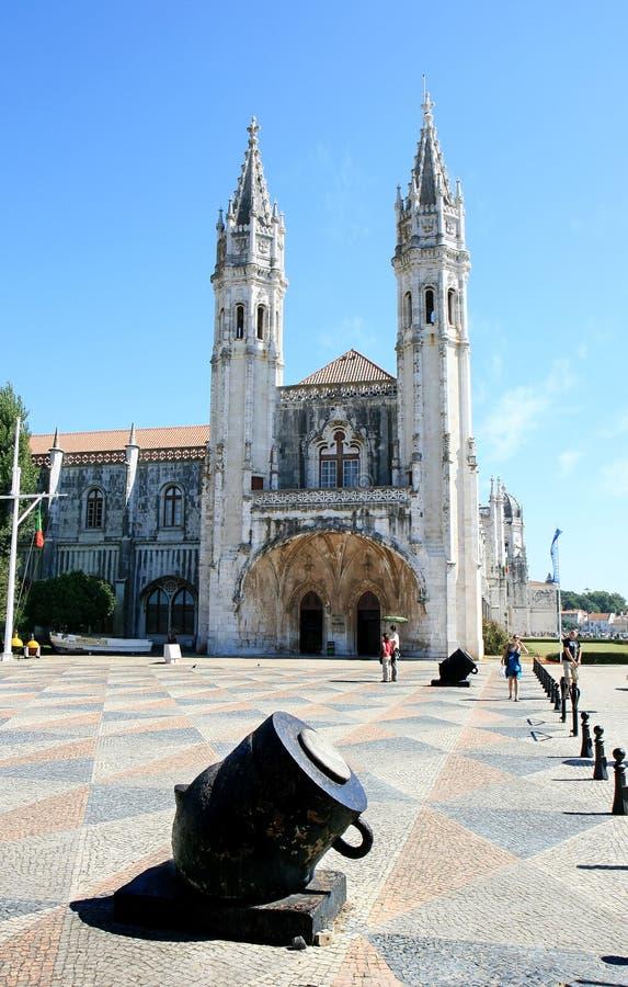 Museu do porto em dos Jeronimos de Mosteiro, Lisboa imagens de stock royalty free