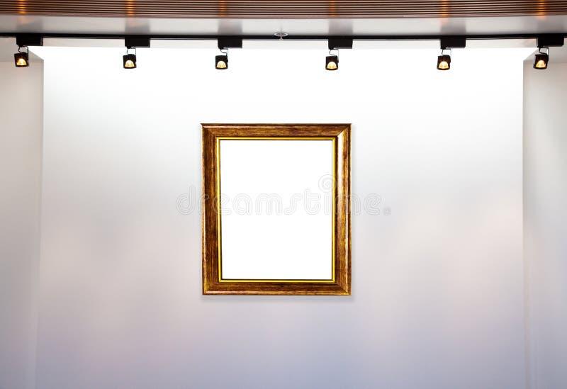 Museu do quadro fotos de stock