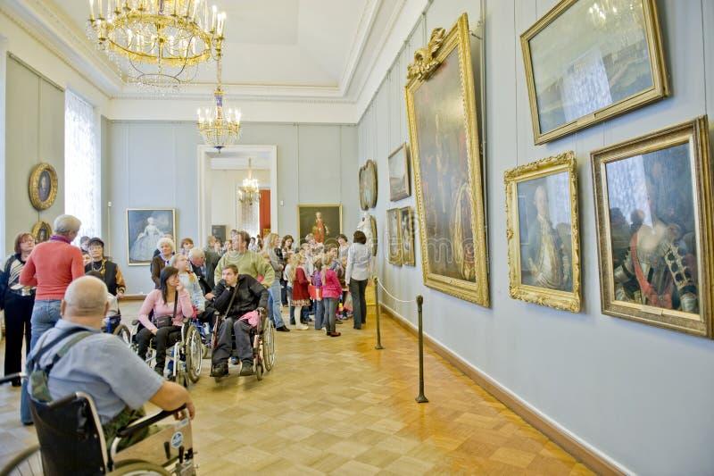 Museu do russo em St Petersburg fotografia de stock royalty free