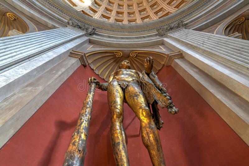 Museu do Vaticano - Cidade Estado do Vaticano imagens de stock