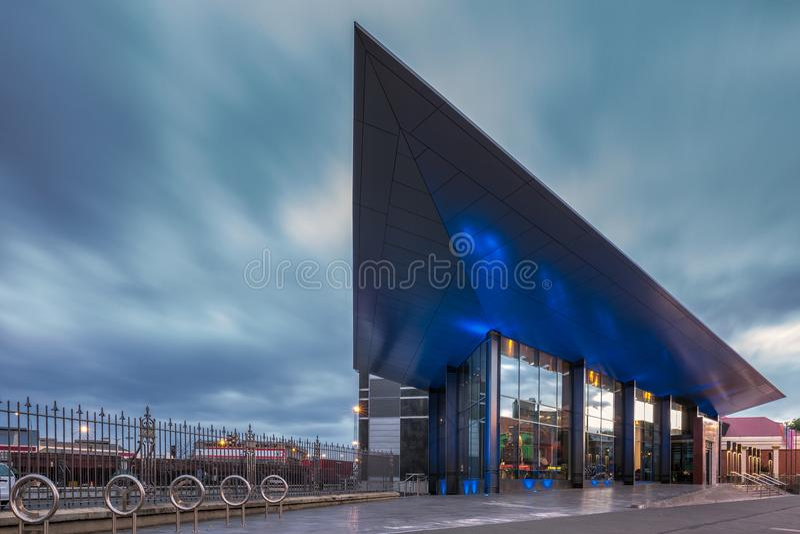 Museu dos colonos de Dunedin imagens de stock