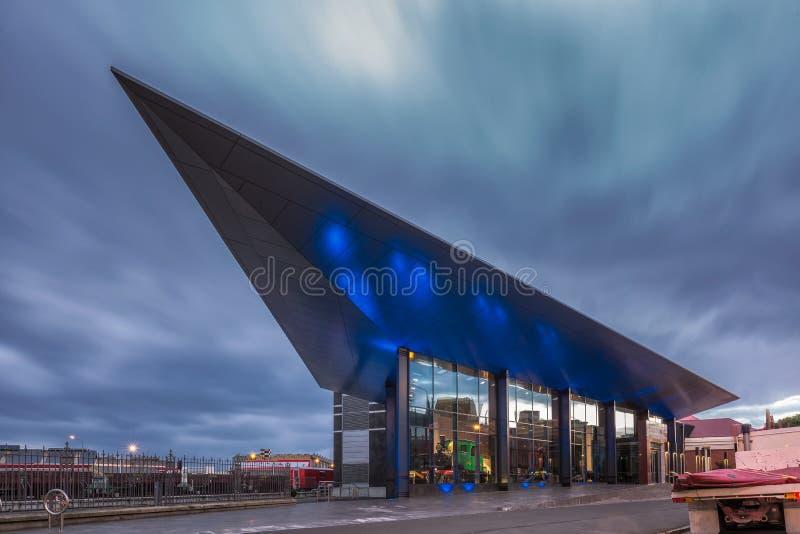 Museu dos colonos de Dunedin imagem de stock