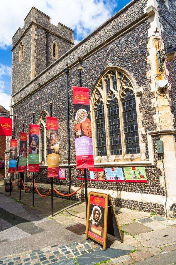 Museu dos contos de Canterbury fotografia de stock royalty free
