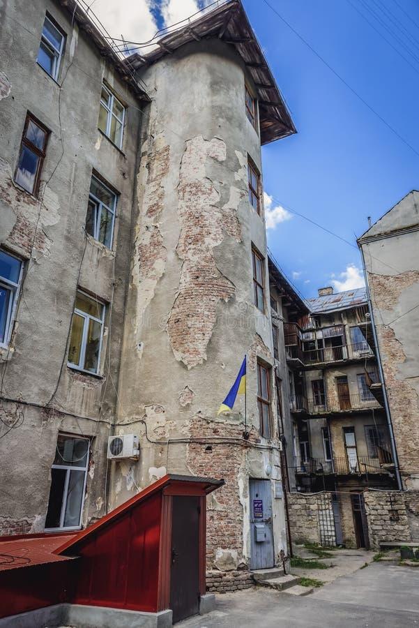 Museu dos presos políticos em Ternopil imagem de stock royalty free