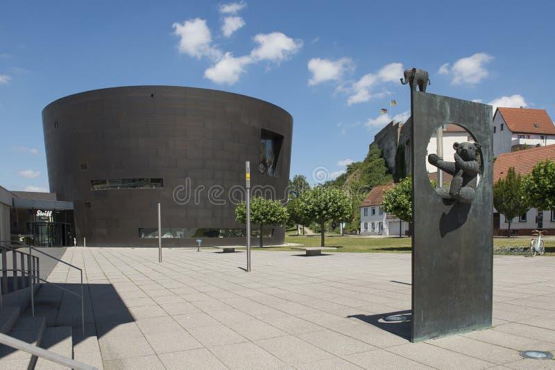 Museu e loja de brinquedos Steiff em Giengen e der Brenz próximo à fábrica da fotografia de stock royalty free