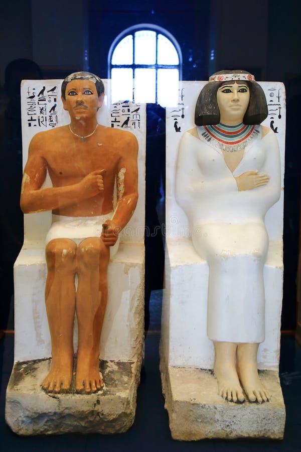 Museu egípcio imagem de stock royalty free