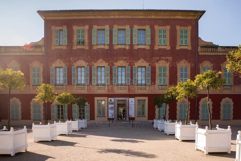 Museu em agradável, France de Matisse foto de stock