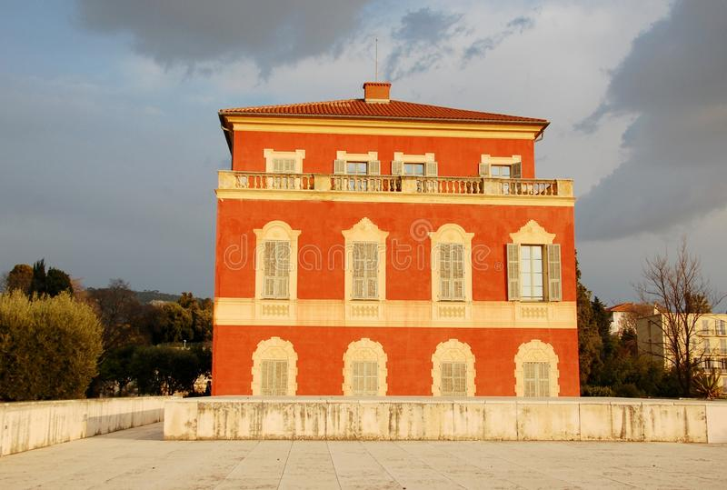 Museu em agradável, France de Matisse fotografia de stock royalty free