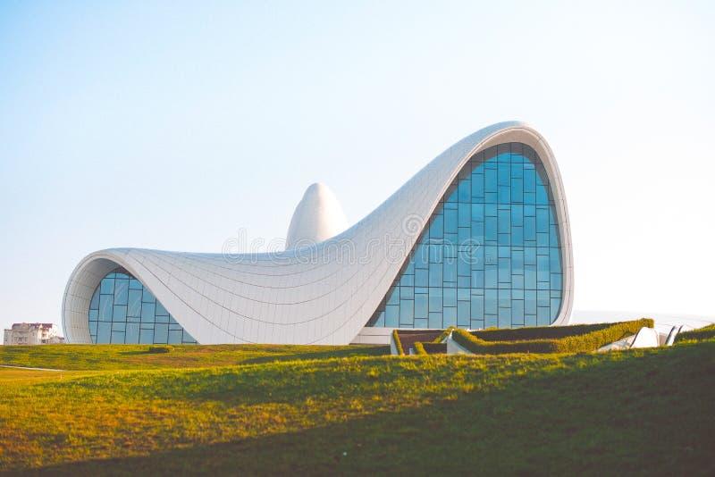 Museu em Baku imagens de stock
