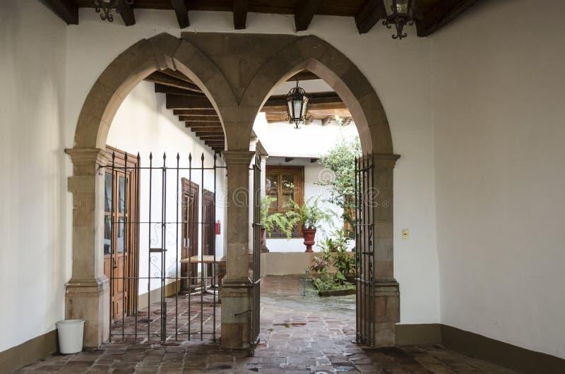 Museu em Valle de Bravo, México fotografia de stock royalty free