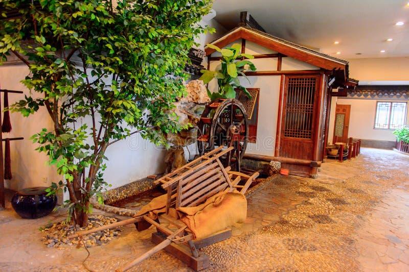 Museu, fábrica e loja de seda em Suzhou, China imagens de stock royalty free