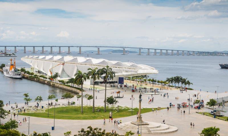Museu faz Amanha, Rio de janeiro, Brasil imagem de stock