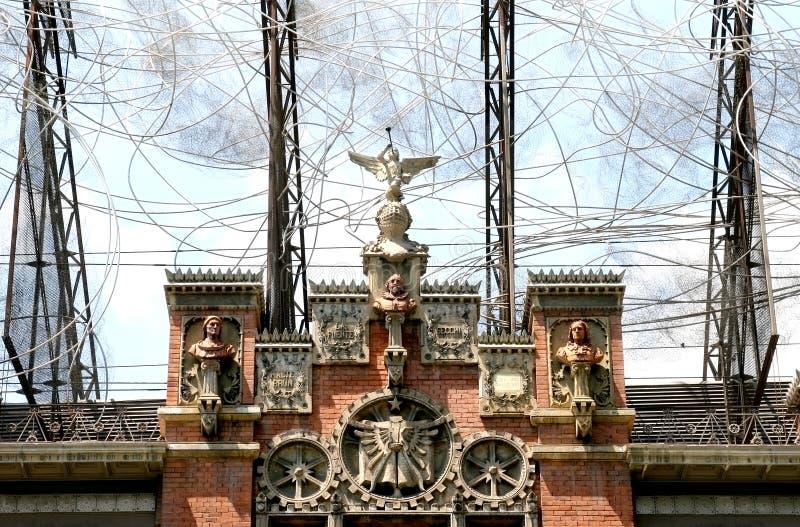 museu fundaci του Antoni Βαρκελώνη tapie στοκ εικόνες