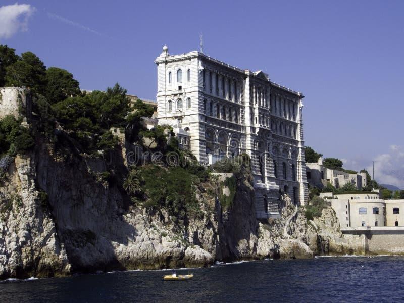 Museu gráfico Monaco de Oceano imagens de stock royalty free
