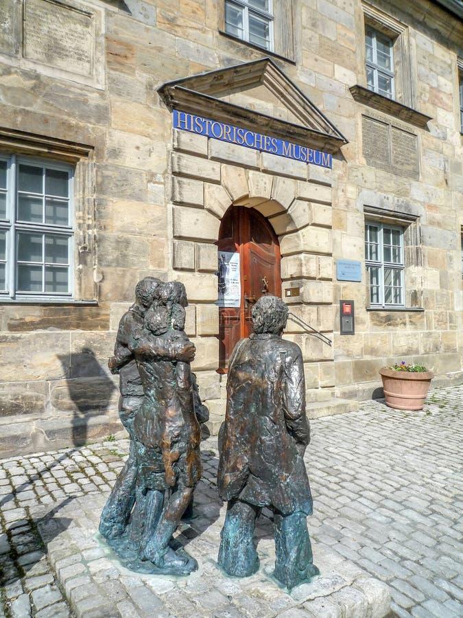 Museu histórico - cidade velha de Bayreuth foto de stock royalty free