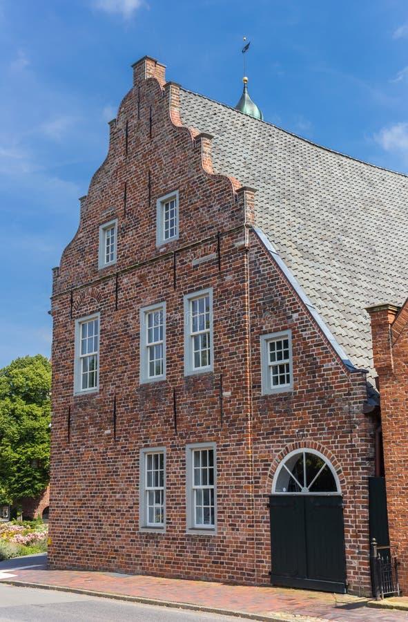 Museu histórico do chá no centro de Norden foto de stock