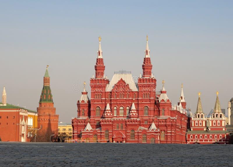 Museu histórico do estado, Moscovo imagem de stock royalty free