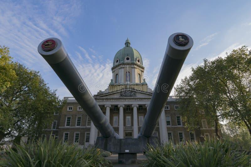 Museu imperial Londres da guerra imagem de stock