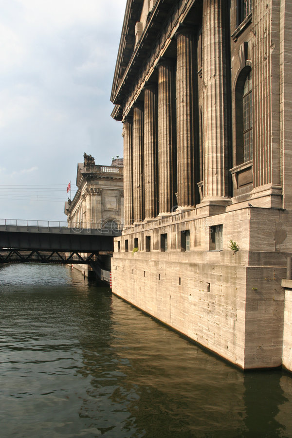 Museu Insel em Berlim fotografia de stock royalty free