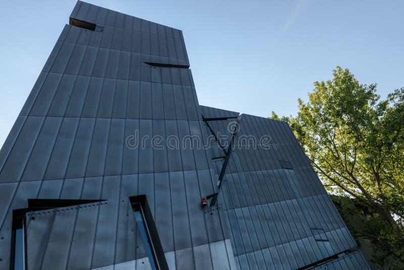 Museu judaico dos disches do ¼ do museu JÃ em Berlim, Alemanha, Europa fotografia de stock