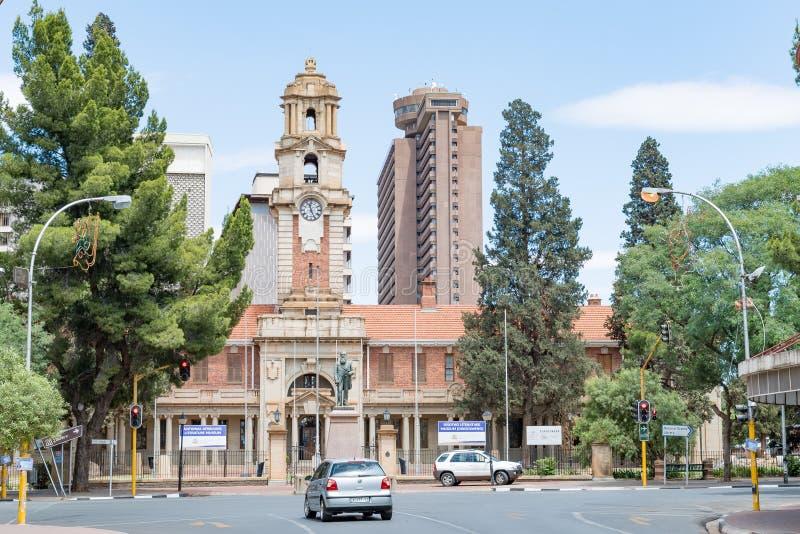Museu literário nacional do holandês sul-africano e do Sotho em Bloemfontein imagens de stock
