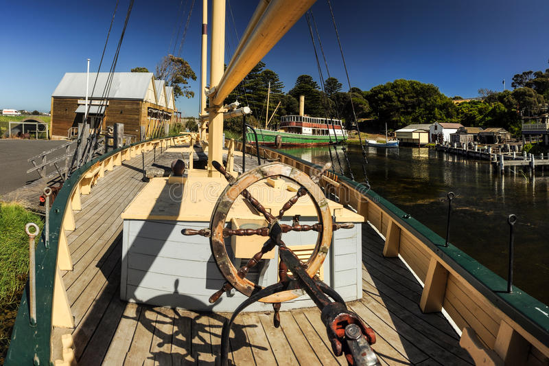 Museu marítimo do monte do mastro fotografia de stock royalty free