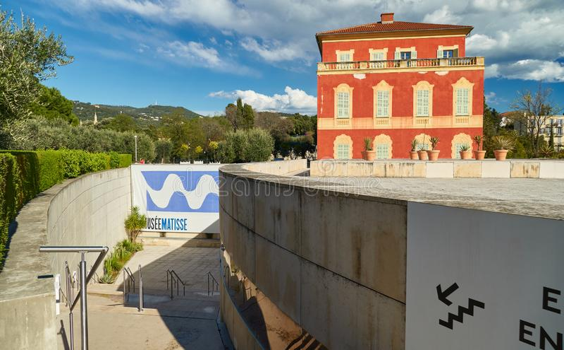Museu Matisse de Nice foto de stock royalty free