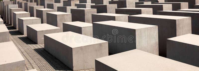 Museu memorável do holocausto judaico, Berlim, foto de stock