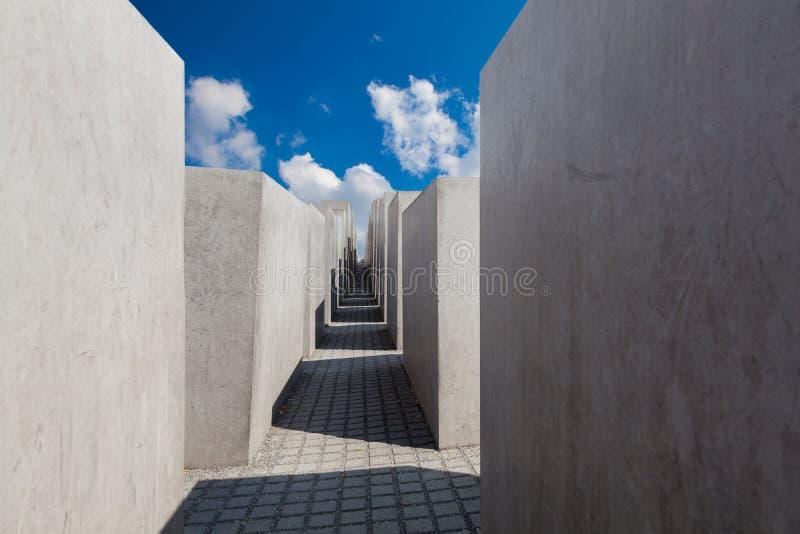 Museu memorável do holocausto judaico, Berlim foto de stock royalty free