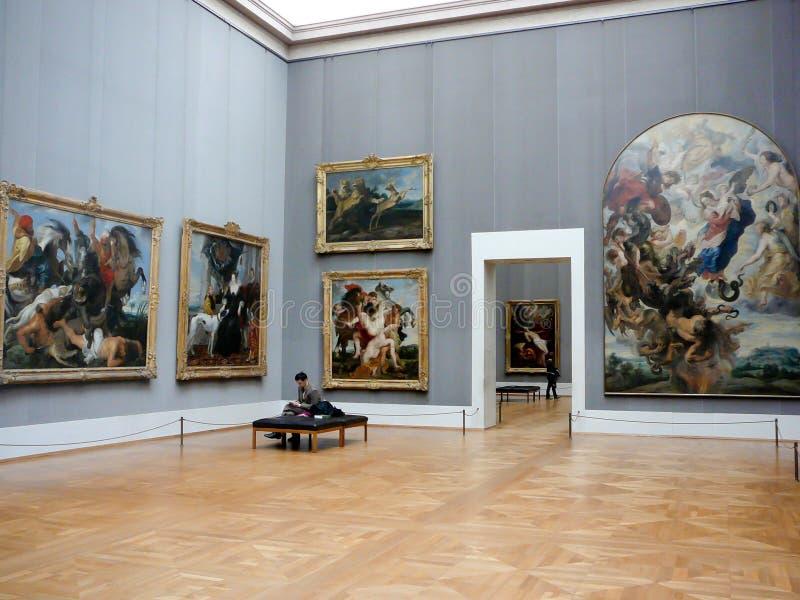 Museu Munich de Alte Pinakothek imagem de stock royalty free