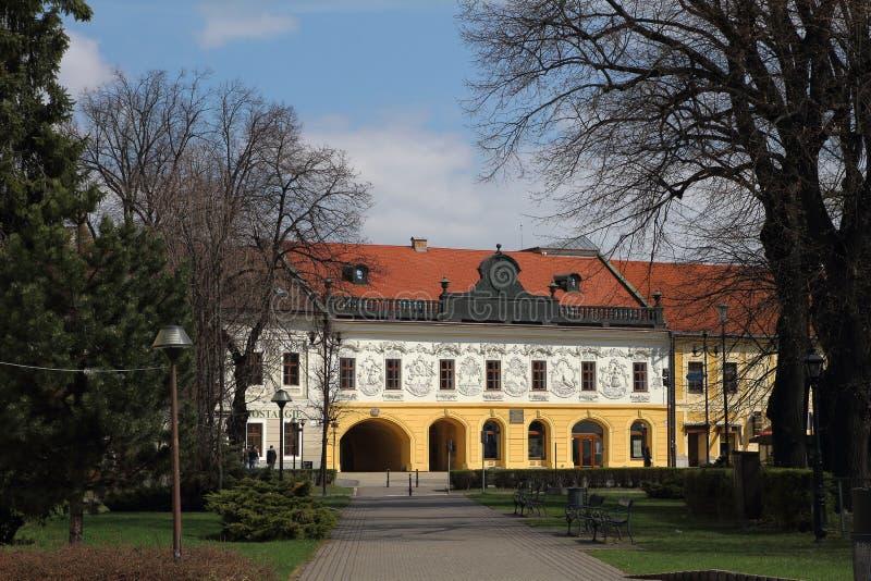 Museu na nova Ves de Spisska fotografia de stock