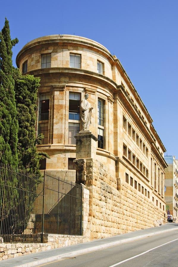 Museu Nacional Arqueologic de Tarragona, Spain imagem de stock