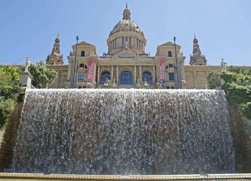 Museu Nacional d'Art DE Catalunya royalty-vrije stock foto