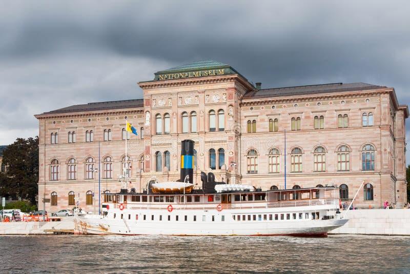 Museu Nacional das belas artes, Éstocolmo, Sweden imagem de stock