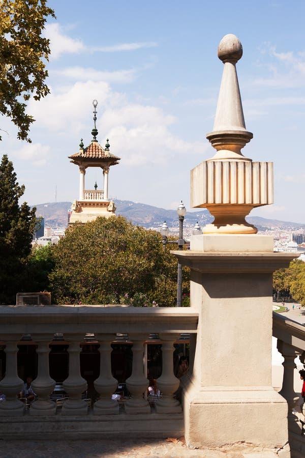 Museu Nacional de Art Sculptures, Barcelona fotos de stock royalty free