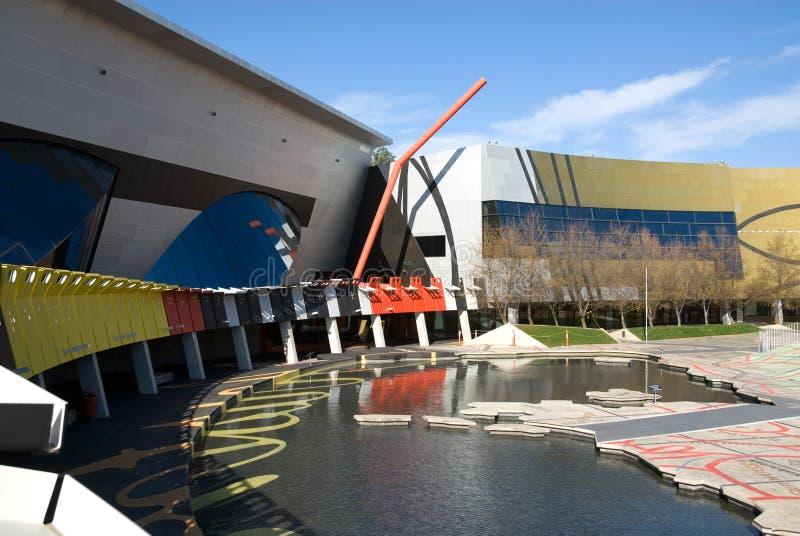 Museu Nacional de Austrália foto de stock