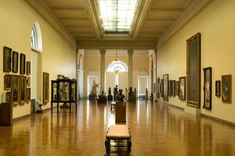 Museu Nacional de Belas Artes MNBA; Португалец для Национального музея изящных искусств национальный музей изобразительных искусс стоковая фотография rf
