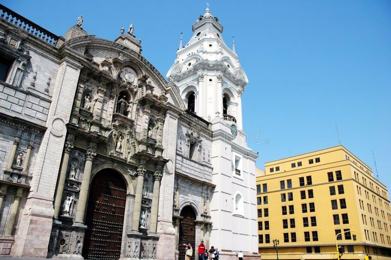 Museu Nacional de Lima - Peru. imagens de stock royalty free