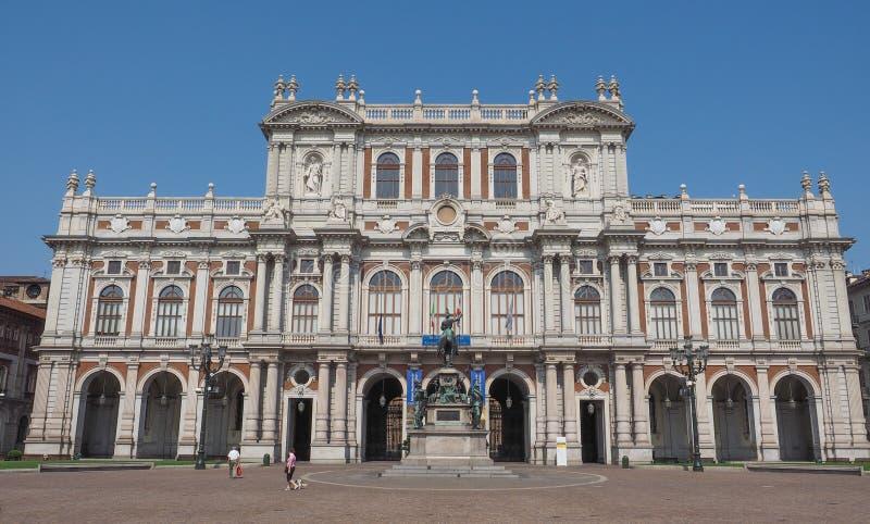 Museu Nacional de Risorgimento em Turin imagem de stock