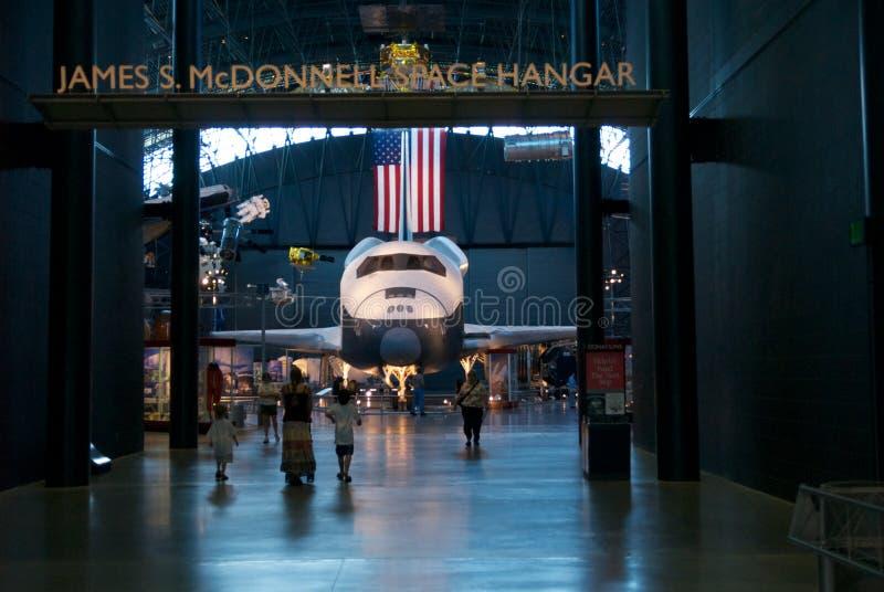 Museu nacional do ar & de espaço foto de stock royalty free