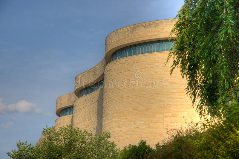 Museu Nacional do Indian americano foto de stock