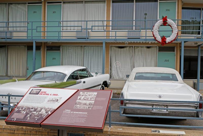 Museu nacional dos direitos civis em Memphis fotografia de stock royalty free