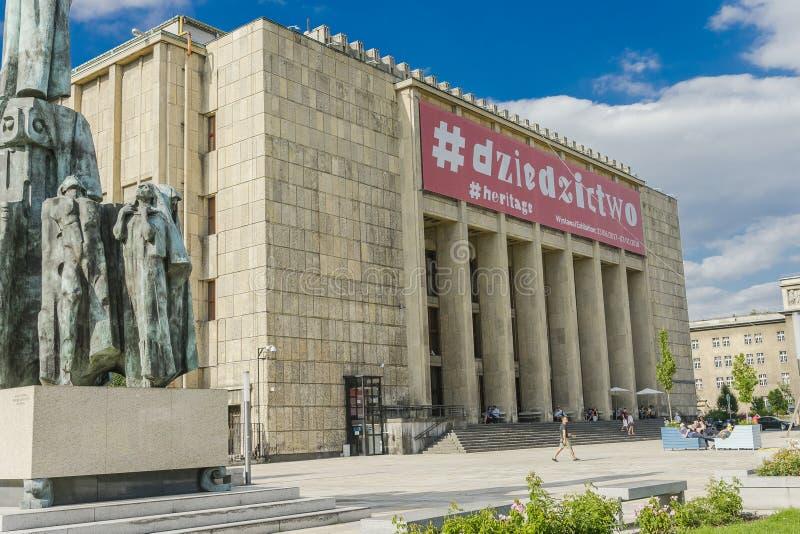 Museu Nacional em Krakow fotos de stock royalty free