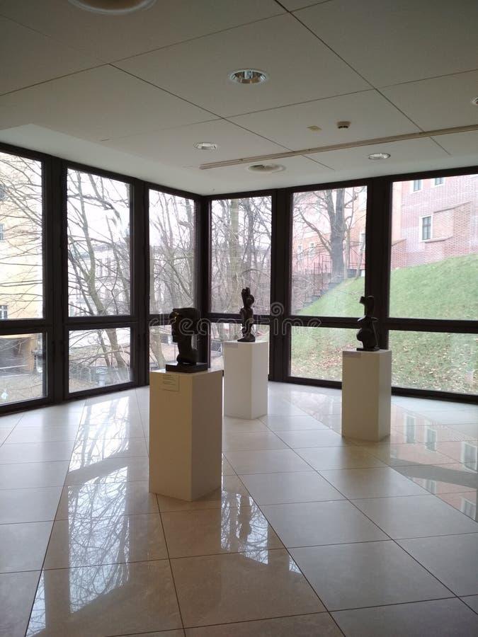 Museu Nacional em Poznan imagem de stock royalty free