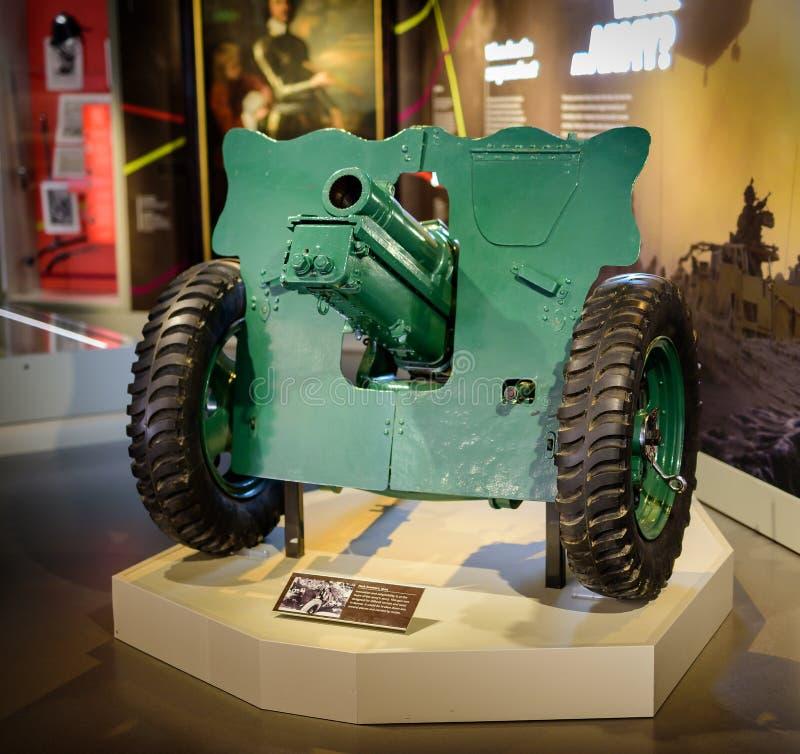 Museu nacional Londres do exército dos obus do bloco fotos de stock royalty free
